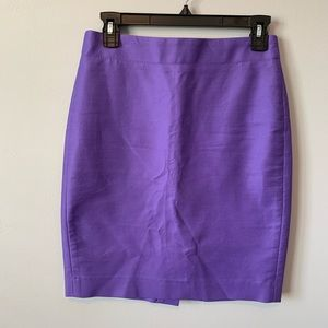 J. Crew No. 2 Pencil Skirt in Bi-Stretch Cotton